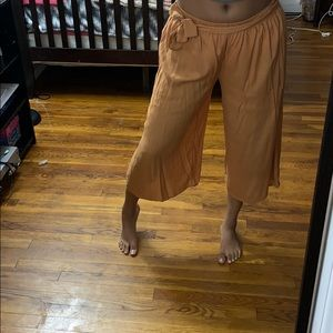 Forever 21 Wide Trouser Pants